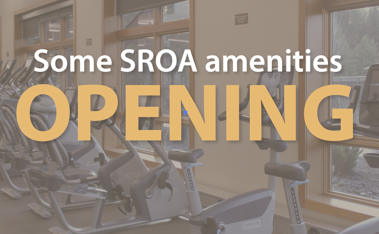 Some SROA recreation amenities reopening